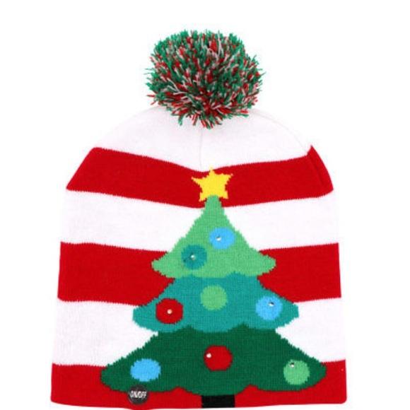 dc9c4fb616a86 LED Light-up Christmas Hat 🎩. Boutique